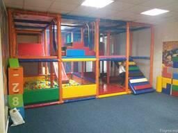 Детский игровой лабиринт,оборудование детской игровой комнат
