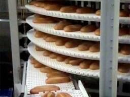 Кулер для хлеба (Охлаждение хлебобулочных изделий и выпечки)
