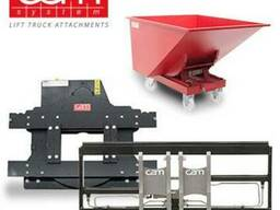 Ротатор CAM System с навеской на любой погрузчик или трактор