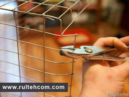 Сетка металлическая, еврозаборы от производителя