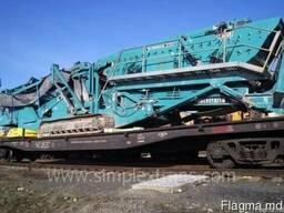 Transport de instalații de foraj, concasoare, echipamente de