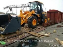 Transport feroviar de masini si echipamente de constructii s