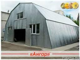 Ангар для подсобного помещения и ремонта техники. СТО - фото 2