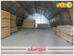 Ангары полигональные для хранения с/х продукции, зерна - фото 5