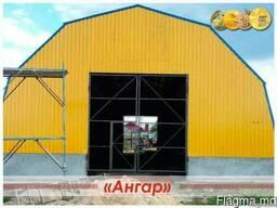 Ангары / склады / цеха / СТО/ зернохранилища / спортивные пл - фото 5