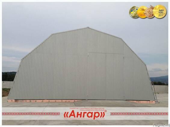 Ангары, склады, цеха, зернохранилища шириной 8м-24м