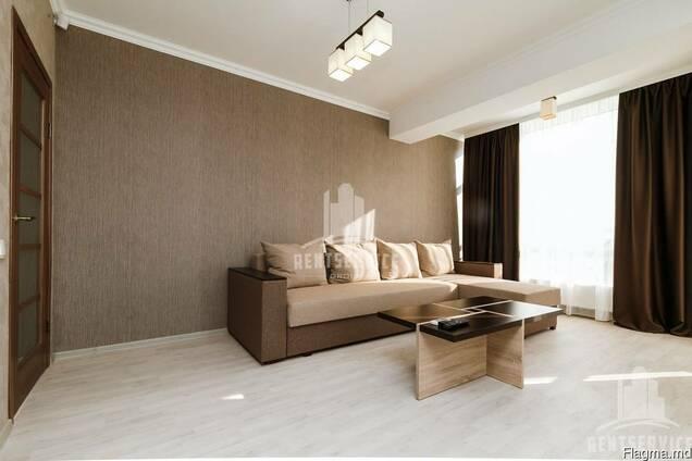 Apartamentul Lux cu 2 odai in Centru, bloc nou. Chirie pe zi