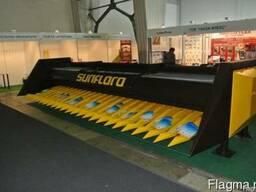Без рядковая жатка для уборки подсолнечника «Sunfloro New» - фото 2
