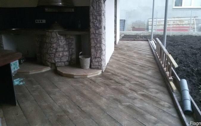 Cherestea scandura parchet pavaj trotuar-Плитка тротуарная