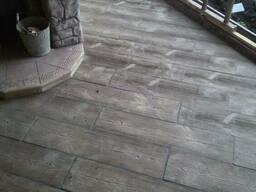 Cherestea scandura parchet pavaj trotuar-Плитка тротуарная - фото 2