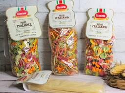 Цветная итальянская паста