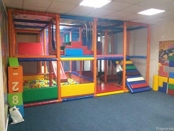 Детский игровой лабиринт, оборудование детской игровой комнат