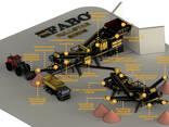Дробильно сортировочная установка мобильная. FABO-Fulstar-90 - фото 8