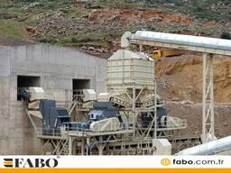 Дробильный завод стацонарный. FABO-TPH-600