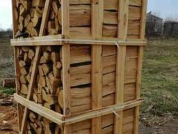 Дрова колотые твердых пород дерева