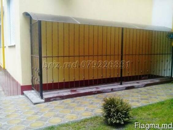 Двери из решётки на окна и стеклопакеты решётки Кишинёв фото