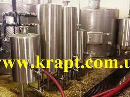Емкость из нержавеющей стали для хранения вина