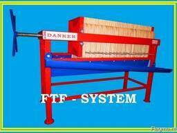 Фильтр-пресс напорный рамочный FTF-system