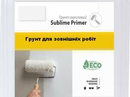 Грунтовка Sublime Primer Premium для внешних работ, 5 л