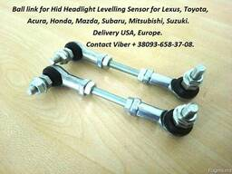 Headlight level sensor link
