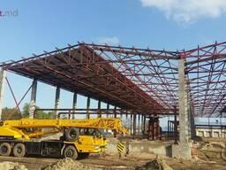 Изготовление металлоконструкции в Молдове/ Constructii metal - фото 3