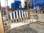 """Качели """"Мадемуазель"""" Топовая модель 2013 г. от """"Prosperitas"""" - фото 4"""