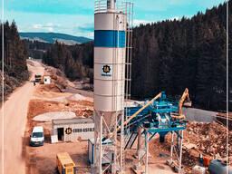 Компактный бетонный завод C45-SNG (45m³/h)
