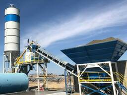 Компактный бетонный завод C60-SNG PLUS (60m³/h)
