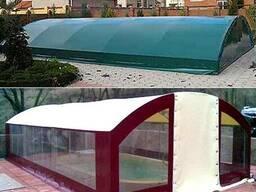 Консервация бассейна, зимняя защита на бассейн, накидка на б - photo 4