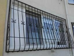 Кованые решетки на окна. Кишинёв gratii pentru geamuri Chis