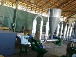 Линия для переработки отходов древисины в топливные брикеты