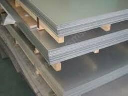 Лист н/ж 4, 0 2В PVC AISI 304 матов.