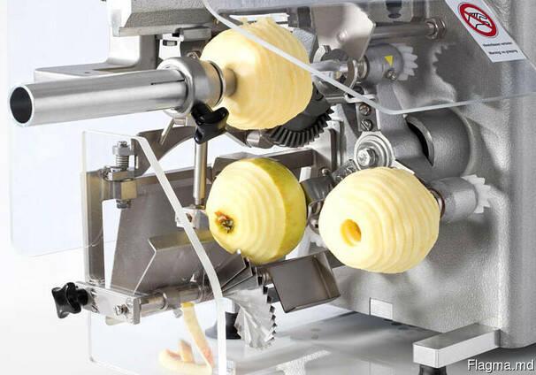 Машина для очистки, нарезания, удаления сердцевины яблок 600