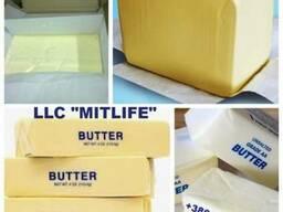 Масло сливочное оптом 82, 5% ГОСТ Украина LLC Mitlife