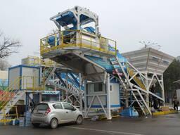 Мобильный Бетонный завод M 100-TWN (100m³/h)