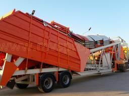 MVS 60M 60м³/час Мобильный Бетонный Завод