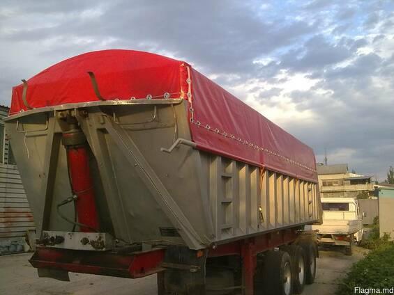 Накидка на зерновоз, тент на грузовик, укрытие сыпучих грузов