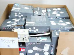 Паллеты Микс: товары для дома, бытовая техника, освещение - фото 1