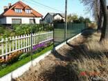 Панельный сварной забор, сетка оцинкованная, ограждения - фото 8