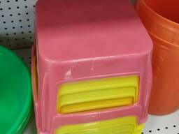 Ведро пластиковый