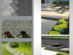 Гранитная продукция (брусчатка, плитка и др)/ Granite products (paving stones, tiles, etc)