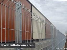 Plasa pentru gard si constructie, gard metalic, sirma