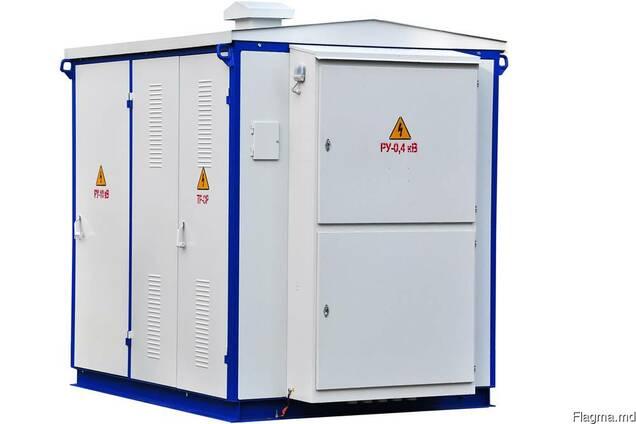 Подстанции трансформаторные комплектныеКТП-2-25. ..630/10(6)