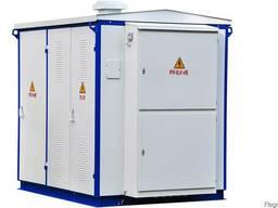 Подстанции трансформаторные комплектныеКТП-2-25. .. 630/10(6)