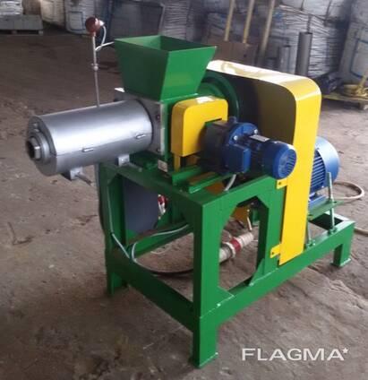 Пресс для переработки отходов древесины в топливные брикеты