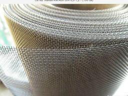 Сетка тканая н/ж AISI 304,321. 6,0-1,2 - (100 см). Купить.