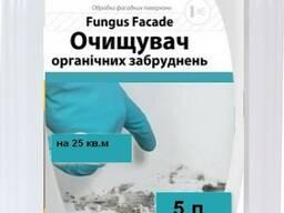 Смывка плесени, грибка на бетоне, гипсе Fungus Facade. 5 л