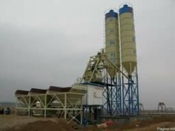 Стационарный бетонный завод HZS 75 (75 м3/ч)