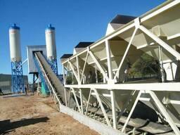 Стационарный бетонный завод HZS 90 (90 м3/ч).