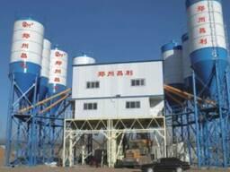 Стационарный бетонный завод HZS120 (120 м3/час).